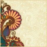 Diseño del fondo de la flor Imagenes de archivo