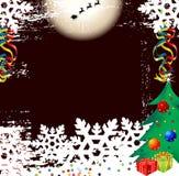 Diseño del fondo de la Navidad Imagen de archivo