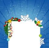 Diseño del fondo de la Navidad Fotos de archivo