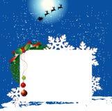 Diseño del fondo de la Navidad Foto de archivo