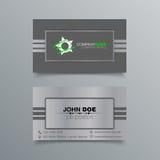 Diseño del fondo de la tarjeta de visita Fotos de archivo libres de regalías