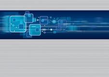 Diseño del fondo de la tecnología Stock de ilustración