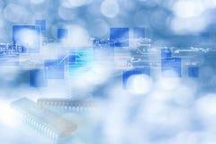 Diseño del fondo de la tecnología Fotografía de archivo libre de regalías