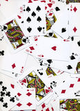 Diseño del fondo de las tarjetas que juegan Imagen de archivo