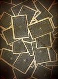 Diseño del fondo de las tarjetas que juegan Fotos de archivo