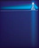 Diseño del fondo del árbol de navidad Imagen de archivo