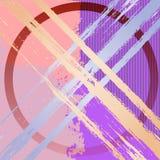 Diseño del fondo del grunge del arte en colores rosados y de la lila Foto de archivo libre de regalías