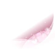 Diseño del fondo del rosa del ejemplo del vector Foto de archivo