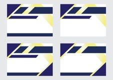 Diseño del fondo para las banderas y los certificados stock de ilustración