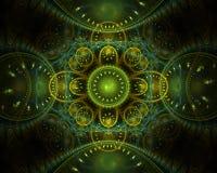 Diseño del fractal Imágenes de archivo libres de regalías