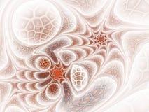 Diseño del fractal de la malla del giro de la fantasía ilustración del vector