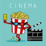 Diseño del icono de la película Foto de archivo libre de regalías