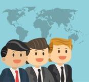 Diseño del icono de los empresarios Imagen de archivo
