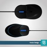 Diseño del icono del ratón Imagen de archivo