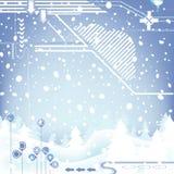 diseño del invierno Fotografía de archivo libre de regalías