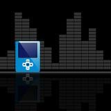 Diseño del jugador Mp3 Fotografía de archivo libre de regalías