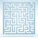 Diseño del laberinto ilustración del vector