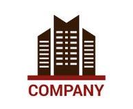 Diseño del logotipo de la ciudad Fotografía de archivo libre de regalías