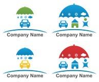 Diseño del logotipo de la compañía Foto de archivo libre de regalías