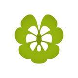 Diseño del logotipo del balneario Fotos de archivo