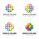 Diseño del logotipo del vector para su negocio Imagenes de archivo
