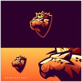 Diseño del logotipo del guepardo listo para utilizar ilustración del vector