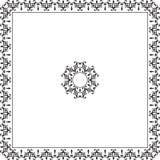 Diseño del marco Fotografía de archivo