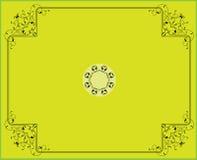 Diseño del marco Imagen de archivo libre de regalías