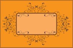 Diseño del marco Fotografía de archivo libre de regalías