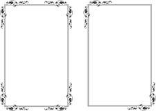 Diseño del marco Foto de archivo