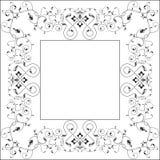 Diseño del marco Fotos de archivo