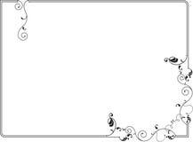 Diseño del marco Imagenes de archivo