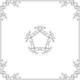Diseño del marco Fotos de archivo libres de regalías