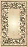 Diseño del marco de la vendimia () Imagen de archivo libre de regalías