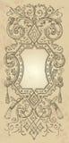 Diseño del marco de la vendimia () Imágenes de archivo libres de regalías
