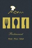 Diseño del menú Fotos de archivo libres de regalías