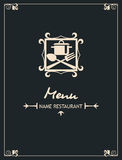 Diseño del menú Imagen de archivo