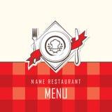 Diseño del menú Imagenes de archivo