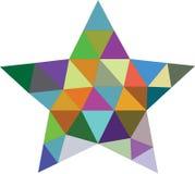 Diseño del modelo de estrella fotografía de archivo