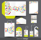 Diseño del modelo del papel Fotos de archivo libres de regalías