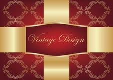 Diseño del modelo del vintage stock de ilustración