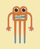 Diseño del monstruo Imagenes de archivo