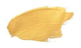 diseño del movimiento del cepillo de la textura del oro fotografía de archivo libre de regalías