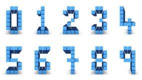 Diseño del número Fotos de archivo libres de regalías