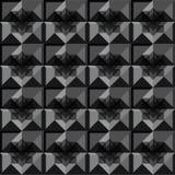 Diseño del negro del modelo de los cuadrados Libre Illustration