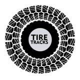 Diseño del neumático Fotografía de archivo libre de regalías