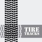 Diseño del neumático Foto de archivo libre de regalías