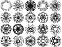 diseño del ornamento del círculo libre illustration