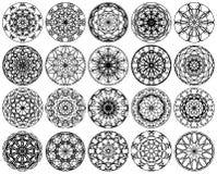 diseño del ornamento del círculo ilustración del vector