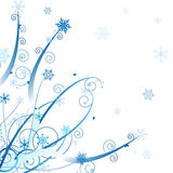Diseño del ornamento del invierno Fotos de archivo